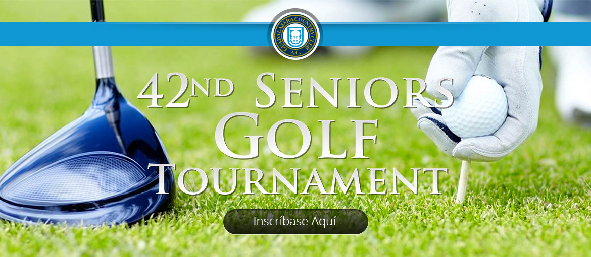 42nd Seniors Golf Tournament